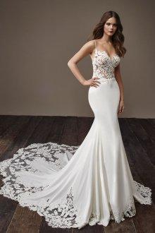 Свадебное платье 2020 в бельевом стиле