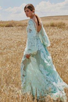 Свадебное платье 2020 бирюзовое