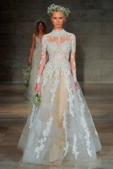 Свадебное платье 2019 с декором