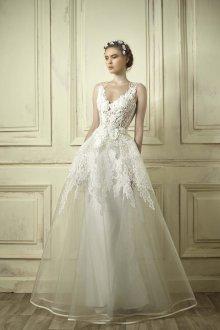 Свадебное платье 2019 с двойной юбкой