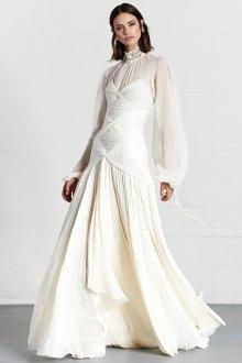 Свадебное платье 2020 под горло