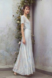 Свадебное платье 2019 с коротким рукавом