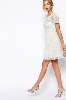 Свадебное платье 2019 короткое