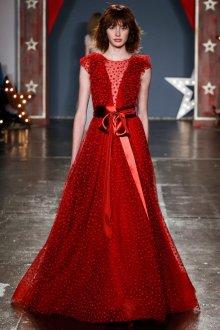 Свадебное платье 2019 красное