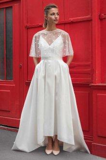 Свадебное платье 2020 с накидкой