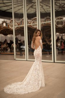 Свадебное платье 2020 с открытой спиной