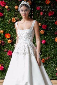 Свадебное платье 2020 с перчатками