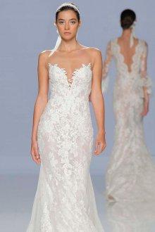 Свадебное платье 2020 с открытыми плечами