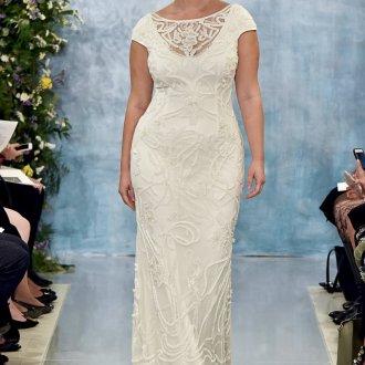 Свадебное платье 2019 для полных
