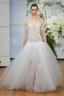 Свадебное платье 2019 прозрачное пышное