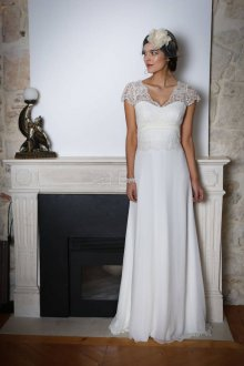 Свадебное платье 2019 ретро с сеткой