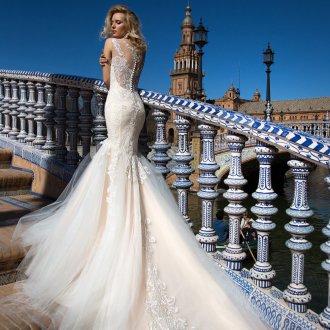 Свадебное платье 2019 русалка