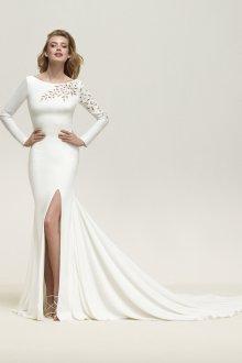 Свадебное платье 2020 со шлейфом