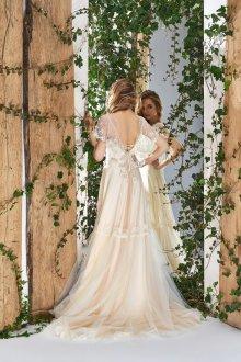 Свадебное платье 2020 цвета слоновой кости
