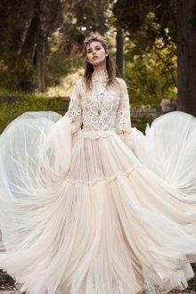 Свадебное платье 2020 с юбкой солнце