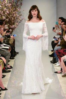Свадебное платье 2020 со свободными рукавами