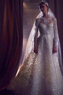 Свадебное платье 2019 с узором