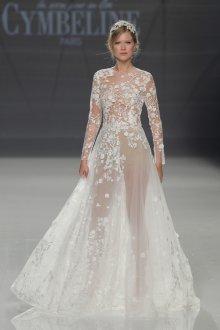 Свадебное платье 2020 с вышивкой