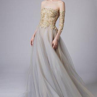 Свадебное платье 2019 золотое