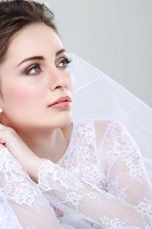 Макияж на свадьбу 2019 блестящий