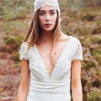 Свадебная прическа 2019 бохо