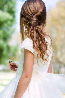 Свадебная прическа 2019 на длинные волосы с ракушкой
