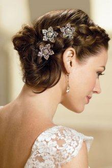 Свадебная прическа 2018 коса