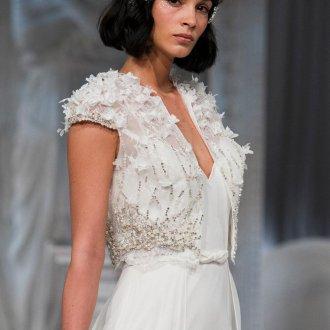 Свадебная прическа 2019 с кристаллами