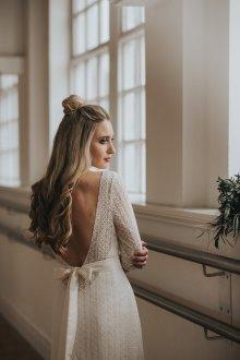 Свадебная прическа 2019 стильная