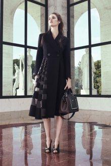 Платье пиджак асимметричное
