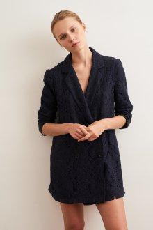 Платье пиджак кружевное