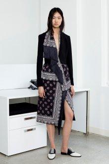 Платье пиджак миди