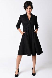 Платье пиджак до колен