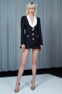 Платье пиджак с воланами