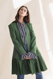 Платье пиджак зеленое
