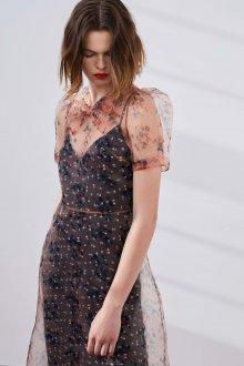 Платье футляр с прозрачной накидкой