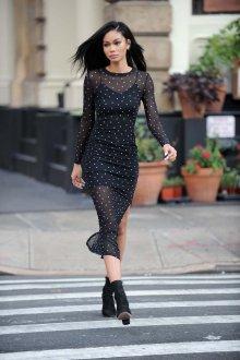 Платье футляр со звездами