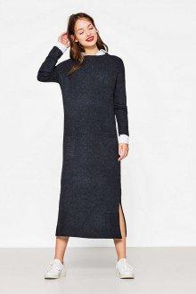 Платье вязаное длинное
