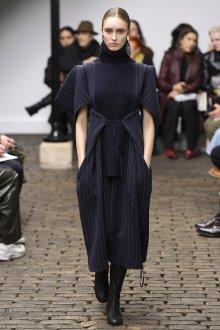 Платье вязаное комбинированное