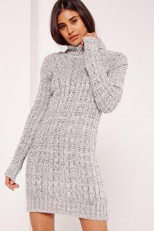Платье вязаное облегающее