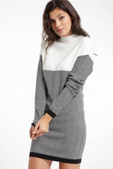 Платье вязаное трикотажное