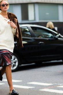 Платье туника вязаное