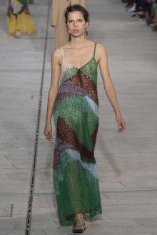 Платье вязаное с узором