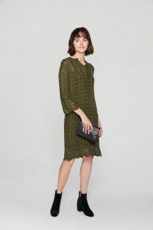 Платье вязаное весеннее