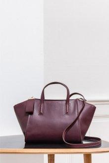 Бордовая сумка большая