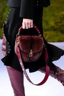 Бордовая сумка зимняя
