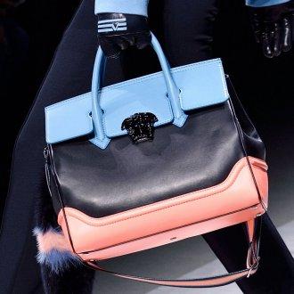 Классическая сумка комбинированная