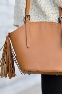 Классическая сумка из кожи