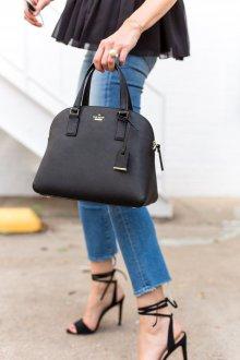 Классическая сумка кожаная
