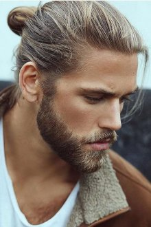 Мужская стрижка 2018 на длинные волосы